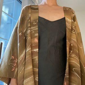 E AND J Vintage Silk kimono jacket One-of-a-kind
